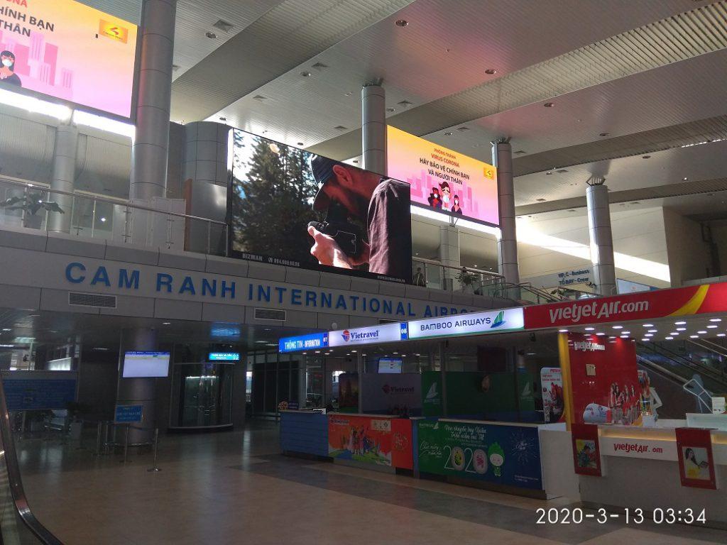 Международный аэропорт Нячанга, домашний терминал