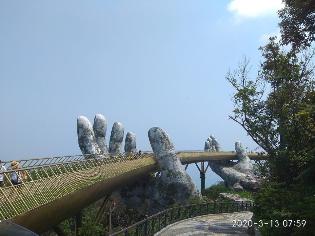 Мост Руки Бога, Золотой Мост