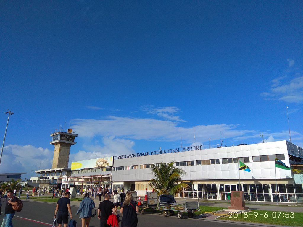 Тур на Занзибар. Аэропорт Занзибара
