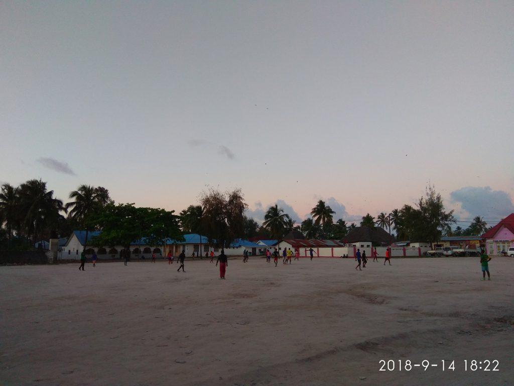 Футбол на Занзибаре