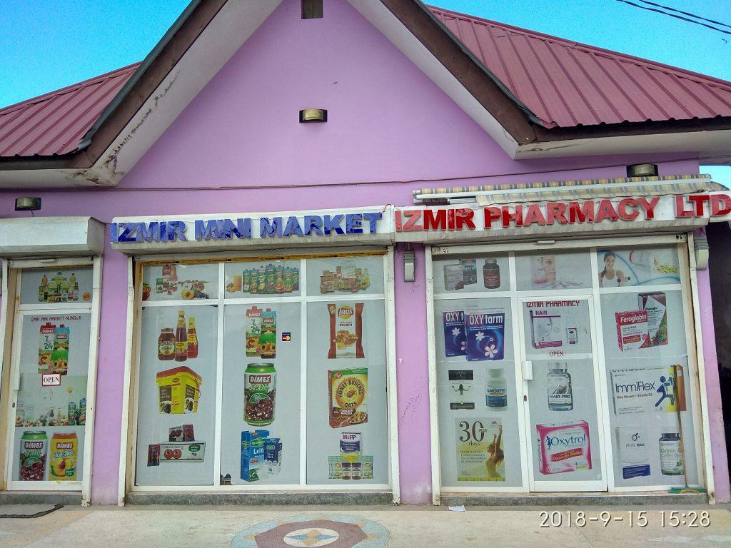 Супермаркет и аптека Нунгви.