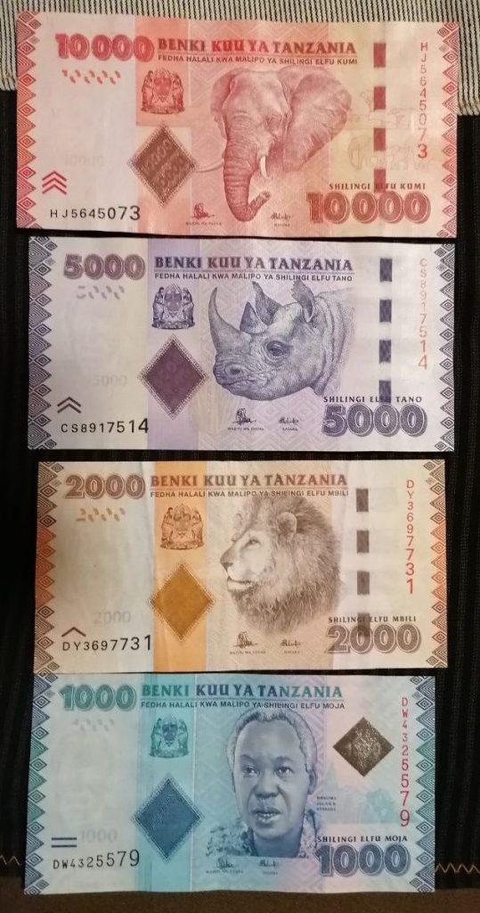 Тур на Занзибар. Деньги Танзании