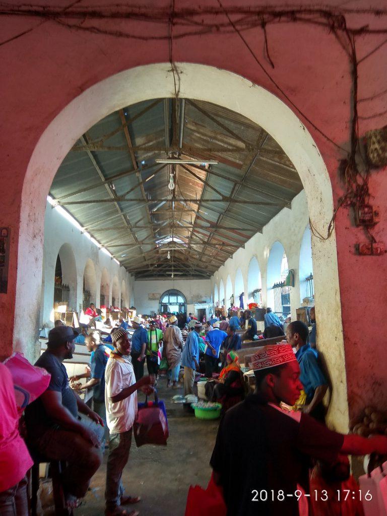 Достопримечательности Занзибара - Рынок Дараджани.