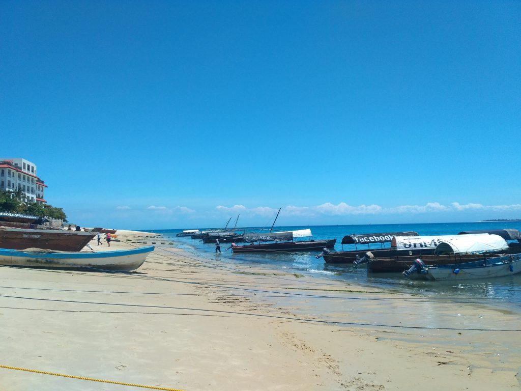 Порт Занзибара.
